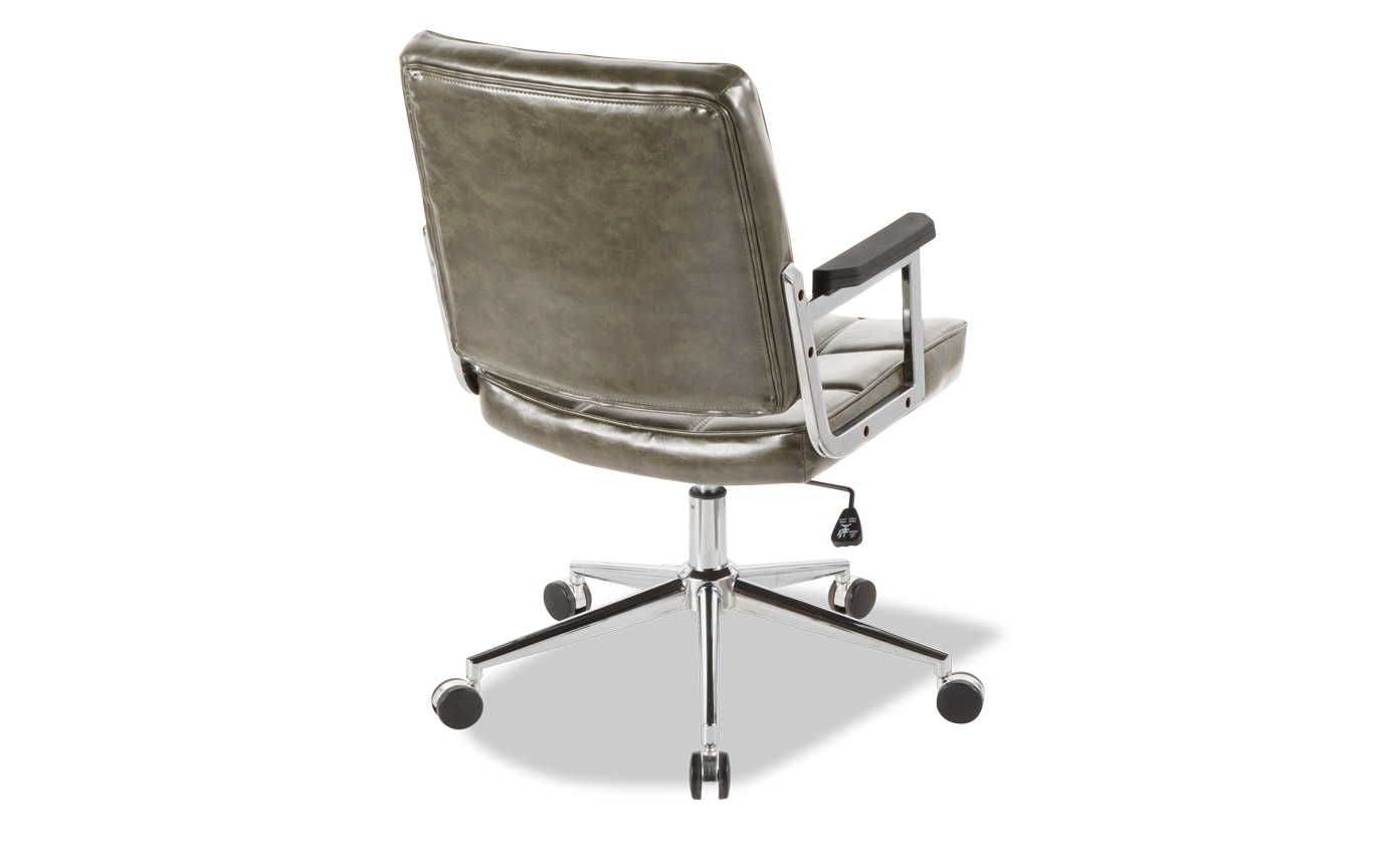 Yvette Faux Leather Office Chair