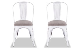 Set of 2 Len Upholstered Chairs