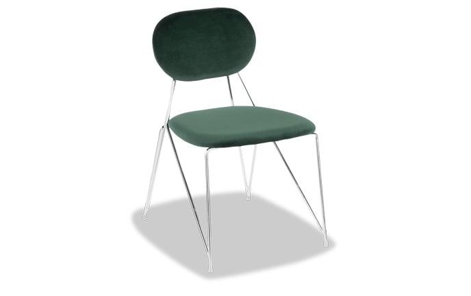 Set of 2 Aurora Velvet Chairs