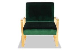 Toshe Velvet Lounge Chair