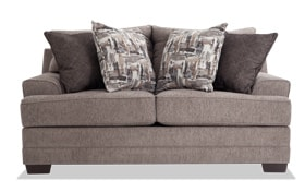 Harmony Gray Loveseat