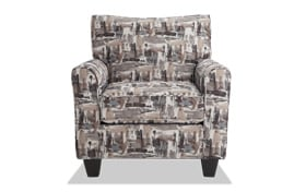 Harmony Gray Accent Chair