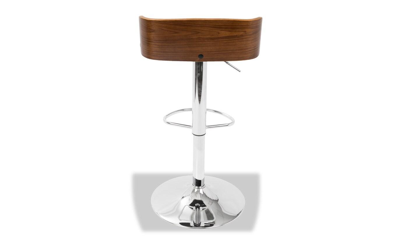Amos Adjustable Swivel Bar Stool