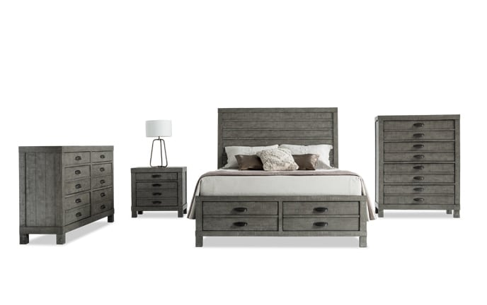 Townsend Storage Bedroom Set