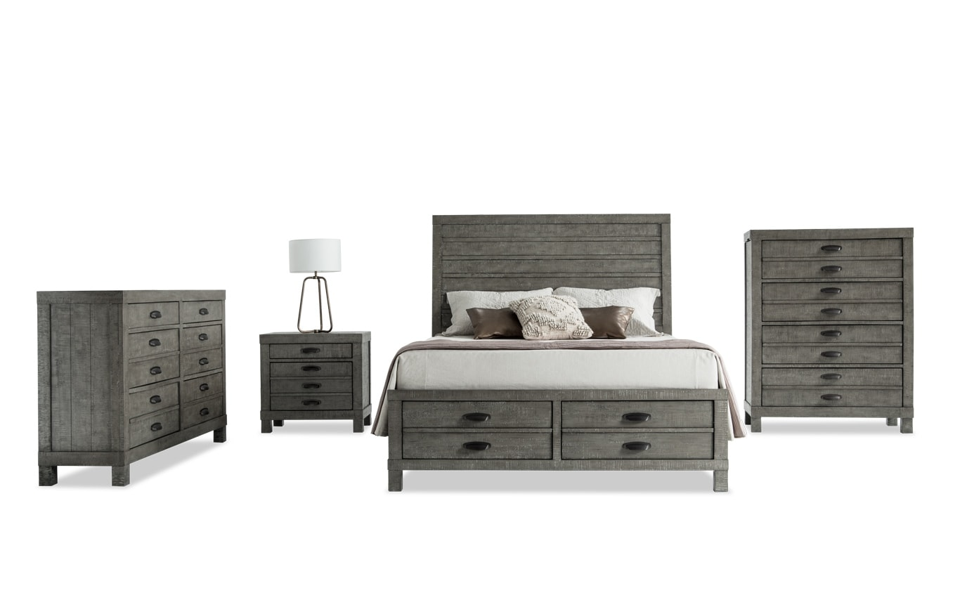 Townsend King Bedroom Set