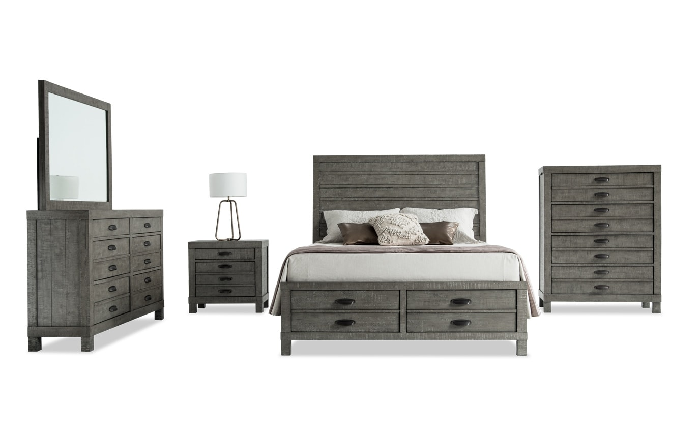 Townsend King Bedroom Set