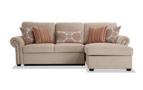 Playroom Artisan Beige Left Arm Facing Sectional