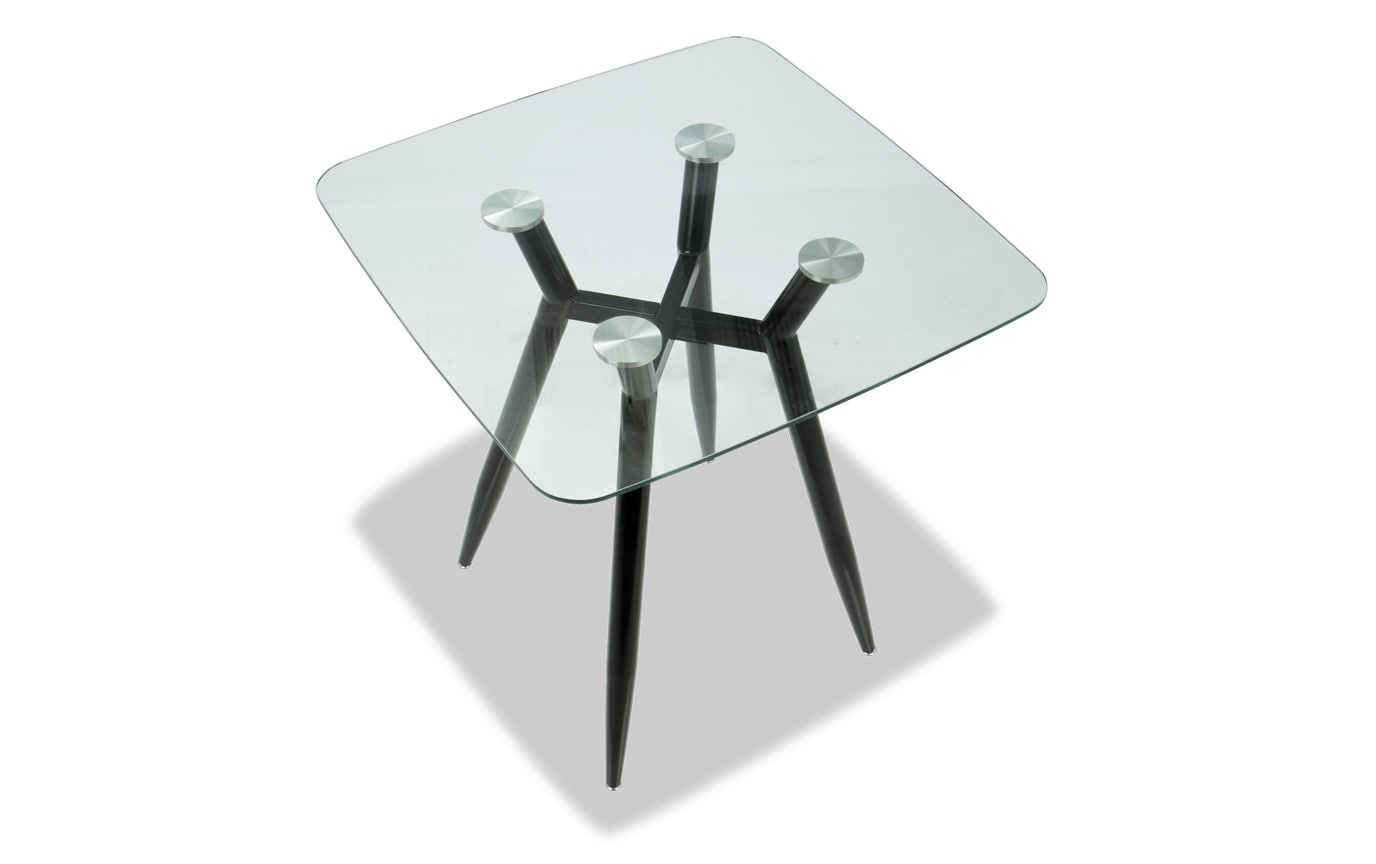 Amira Square Glass Counter Table