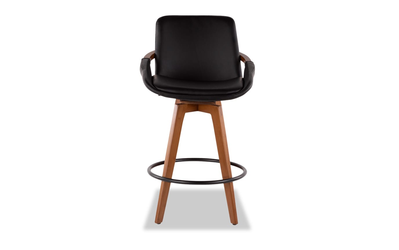 Kaj Faux Leather Counter Stool