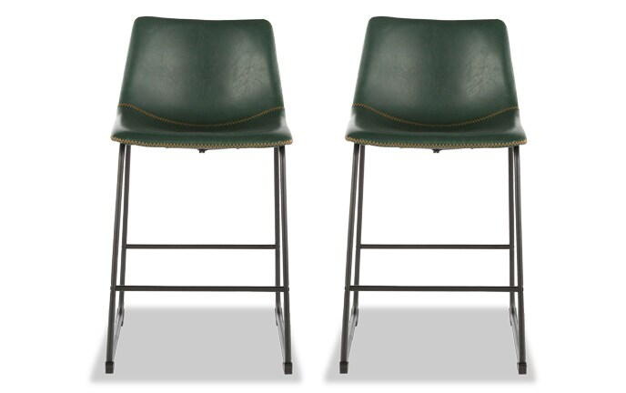 Set of 2 Dale Counter Stools