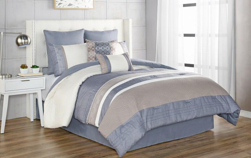 Mckay 8 Piece Comforter Set