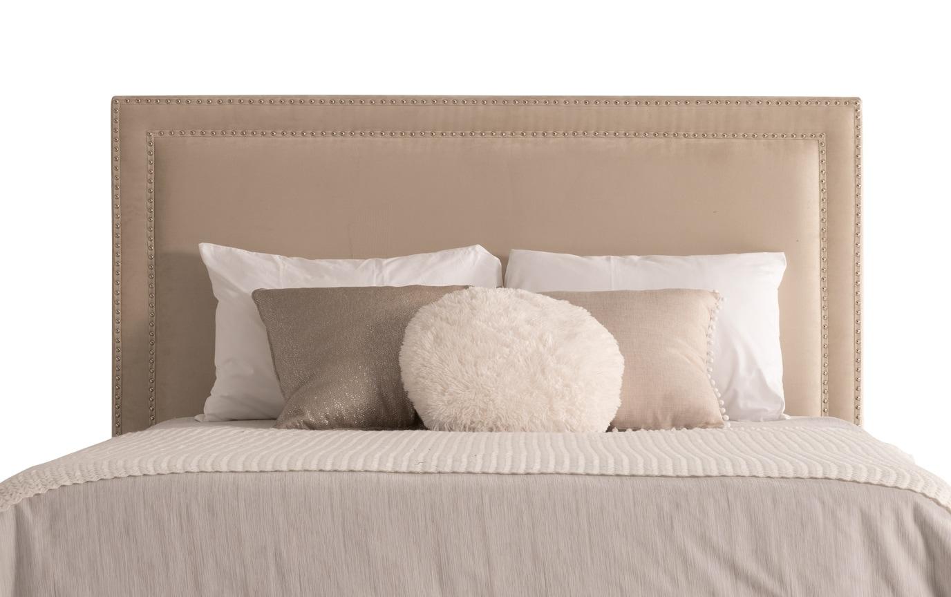 Tremont Full Beige Upholstered Bedroom Set