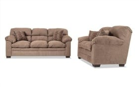 Jonas Latte Sofa & Loveseat