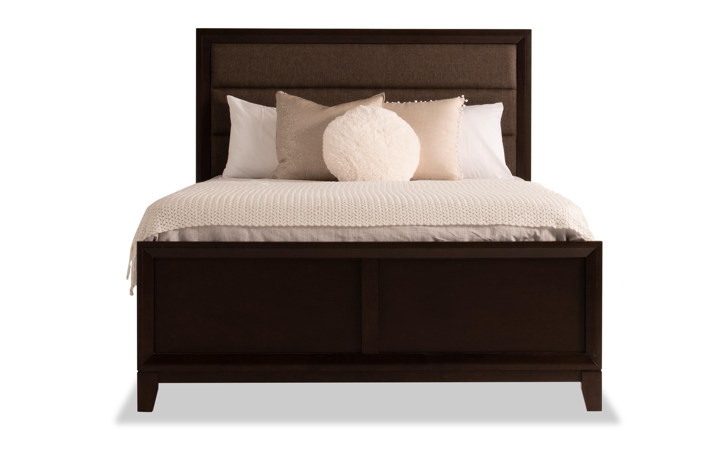 Tremont Queen Espresso Bed Bob S Discount Furniture
