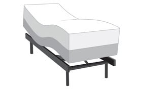 Power Bob Ultra with Stardust Twin XL Firm Mattress