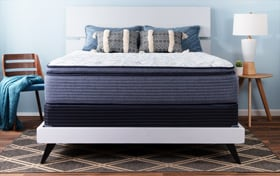 Stardust Twin Plush Standard Mattress Set