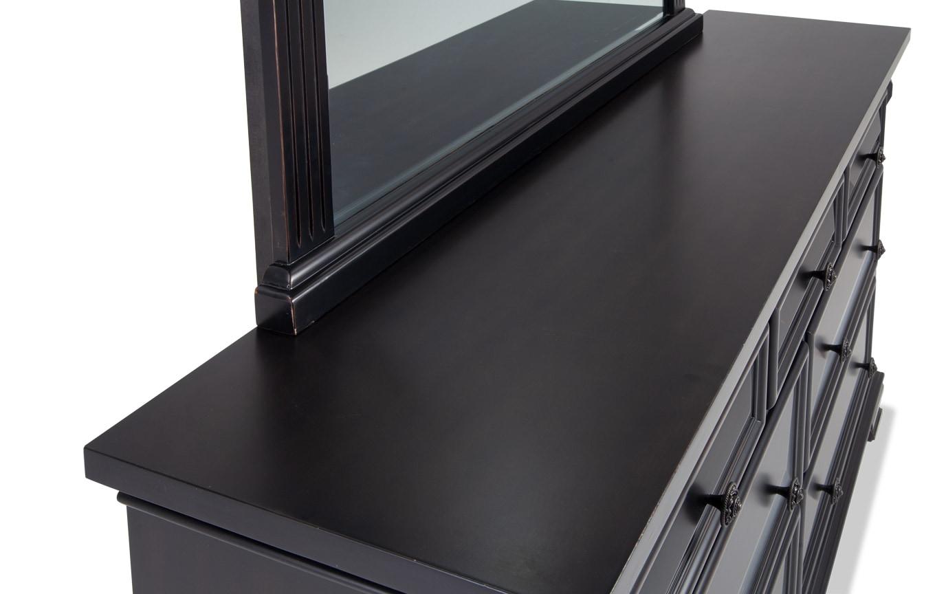 Palisades King Black Storage Bedroom Set