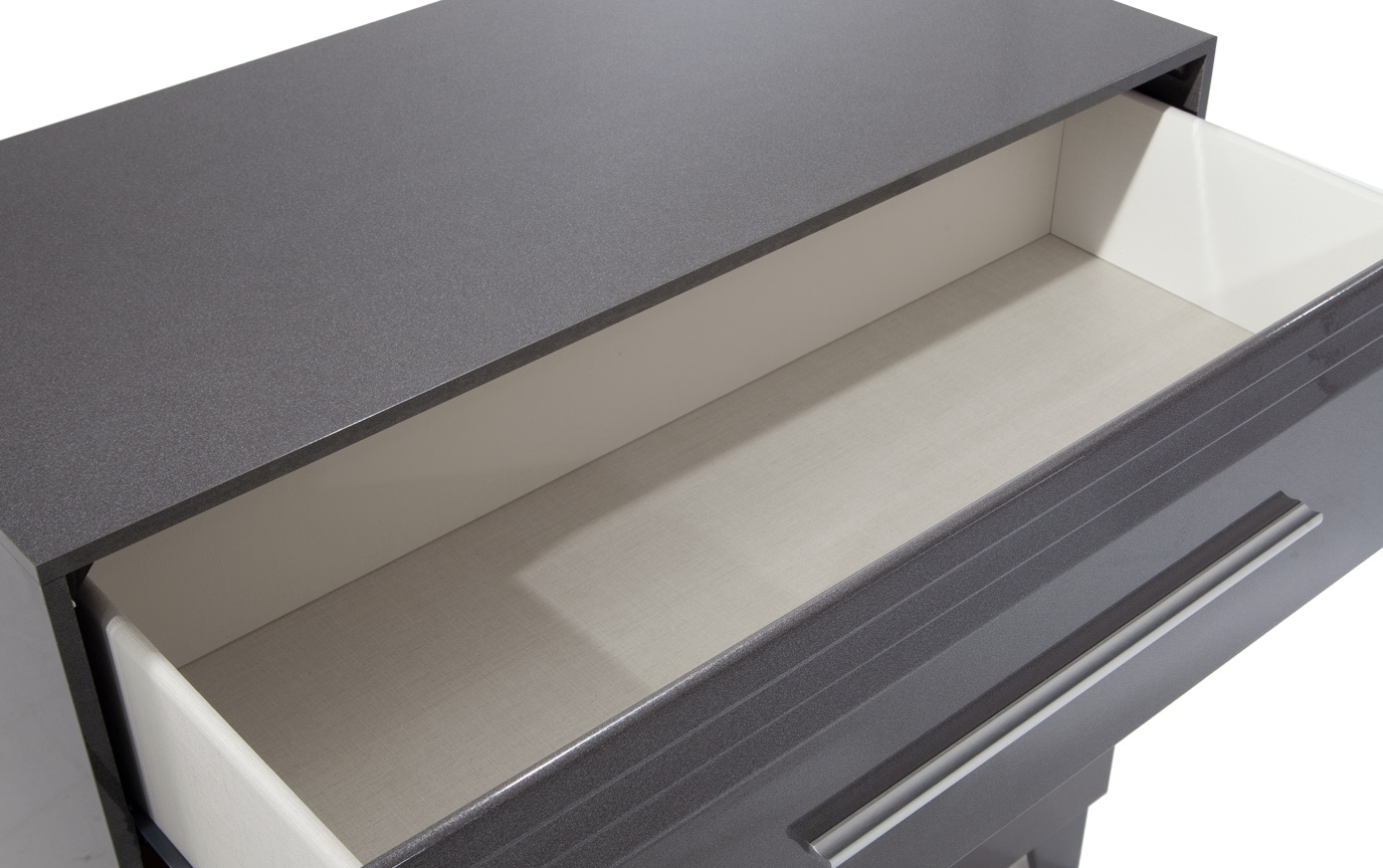Amalfi Platinum 3 Drawer Chest