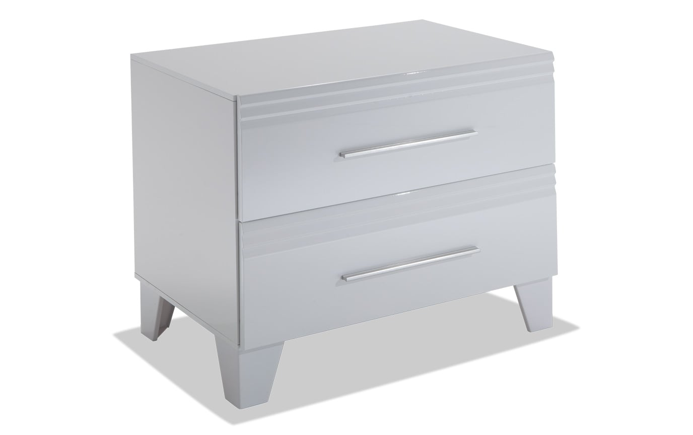 Amalfi White Nightstand