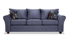 Adrina Navy Floral Sofa