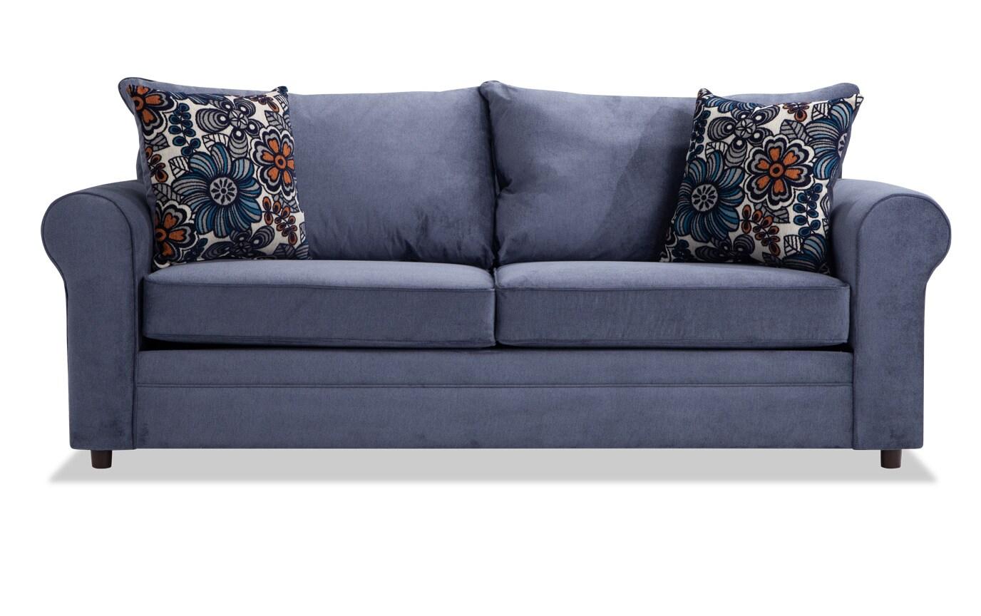 Banner Navy Floral Sofa