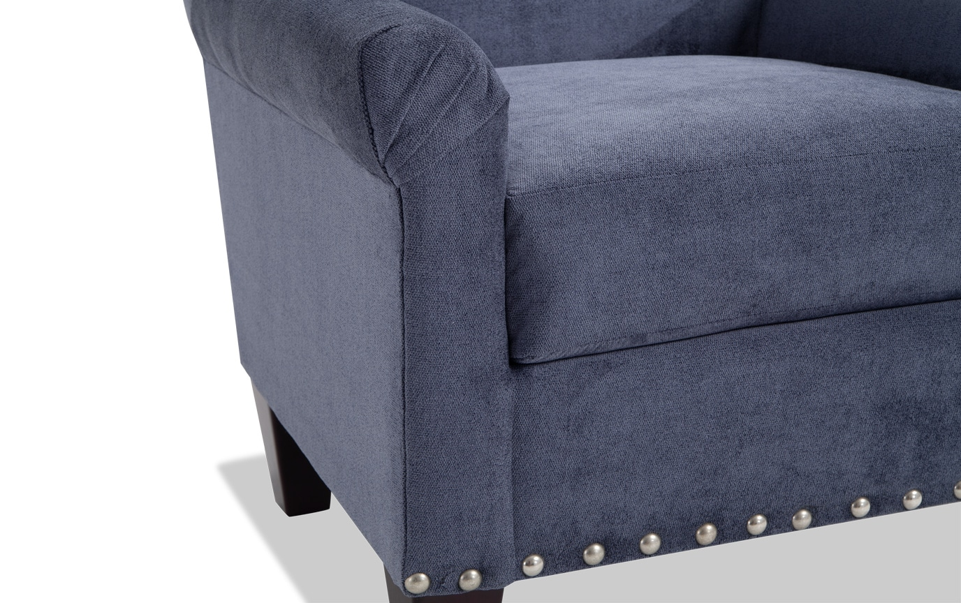 Maxine Navy Accent Chair