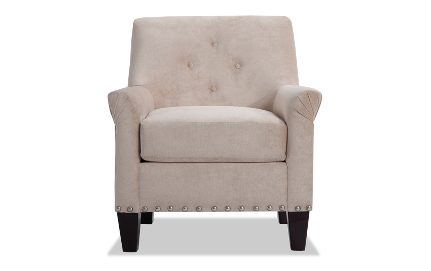 Maxine Taupe Accent Chair