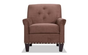 Maxine Chocolate Accent Chair
