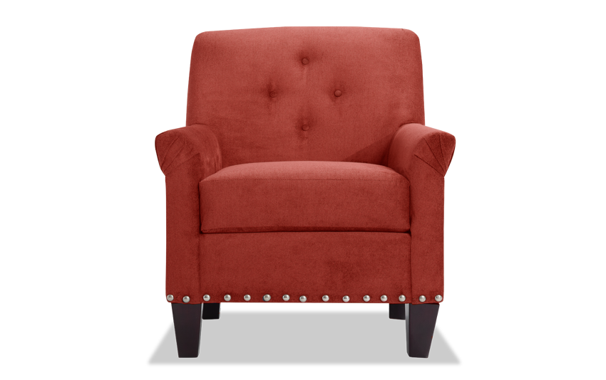 Maxine Red Accent Chair