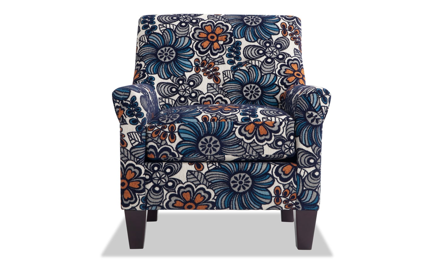 Maxine Floral Accent Chair