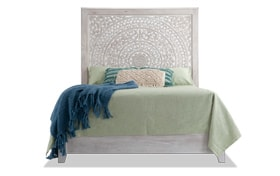 Boho Chic Queen Bed
