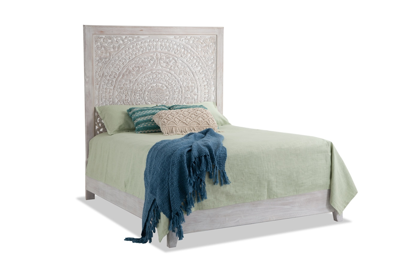 Boho Chic King Bed