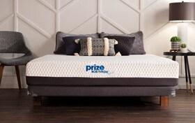 Bob-O-Pedic Prize Hybrid Full Low Profile Mattress Set