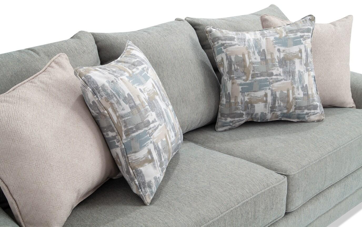 Harmony Sea Foam Blue Sofa Set