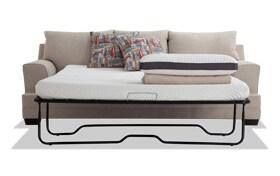 Harmony Beige Bob-O-Pedic Queen Sleeper Sofa