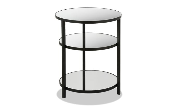 Lillian Mirrored Side Table