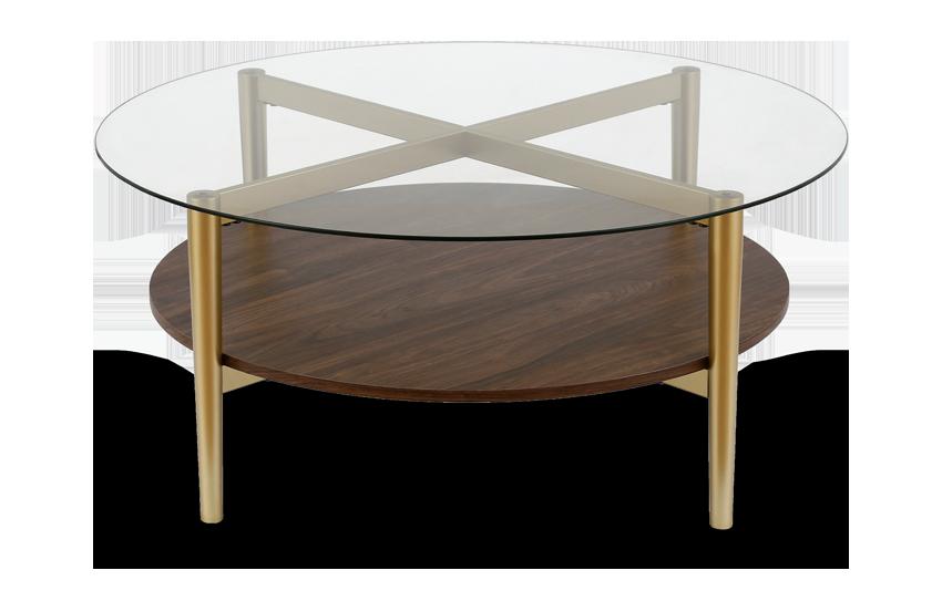 Connor Walnut Coffee Table
