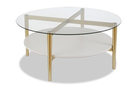 Connor White Coffee Table
