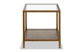 Evangeline Brass Side Table