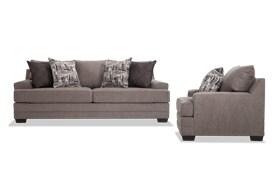 Harmony Gray Sofa & Chair