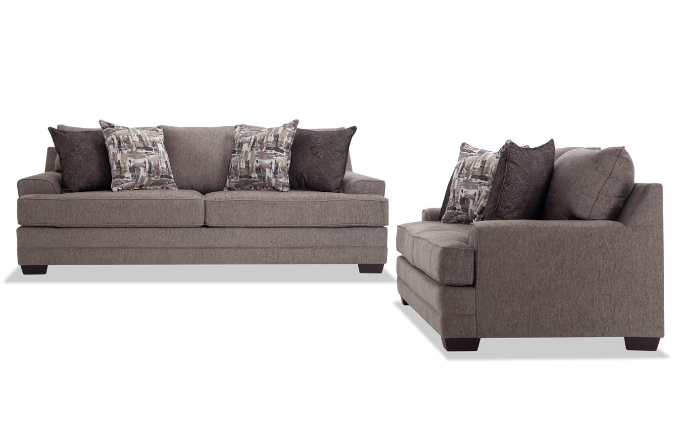 Harmony Gray Sofa Set