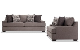 Harmony Gray Sofa Set