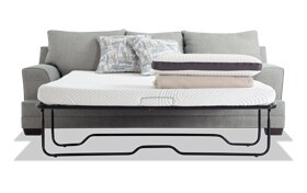 Harmony Sea Foam Blue Bob-O-Pedic Queen Sleeper Sofa