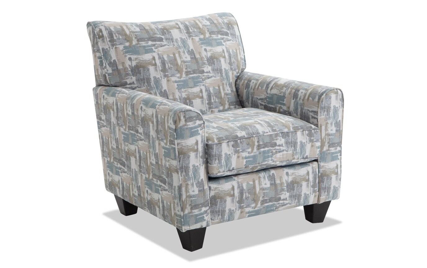 Harmony Sea Foam Blue Sofa & Accent Chair