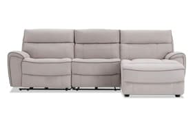 Contempo 3 Piece Power Reclining Left Arm Facing Sectional