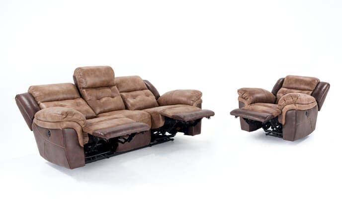 Navigator Power Reclining Sofa & Recliner