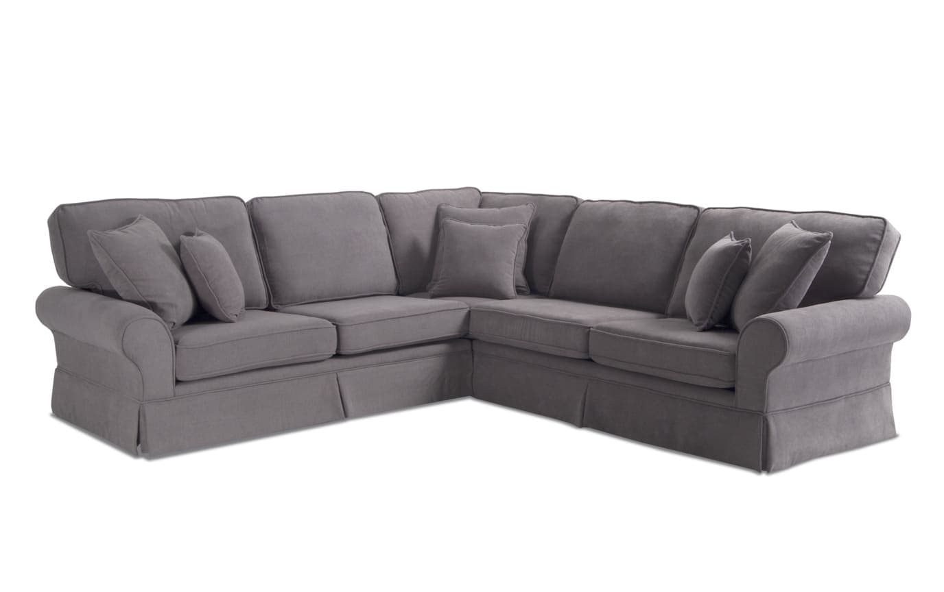 Katie Charcoal 3 Piece Left Arm Facing Sectional