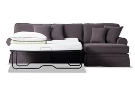 Katie 2 Piece Bob-O-Pedic Gel Left Arm Facing Sleeper Sectional