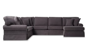 Katie 4 Piece Left Arm Facing Sectional