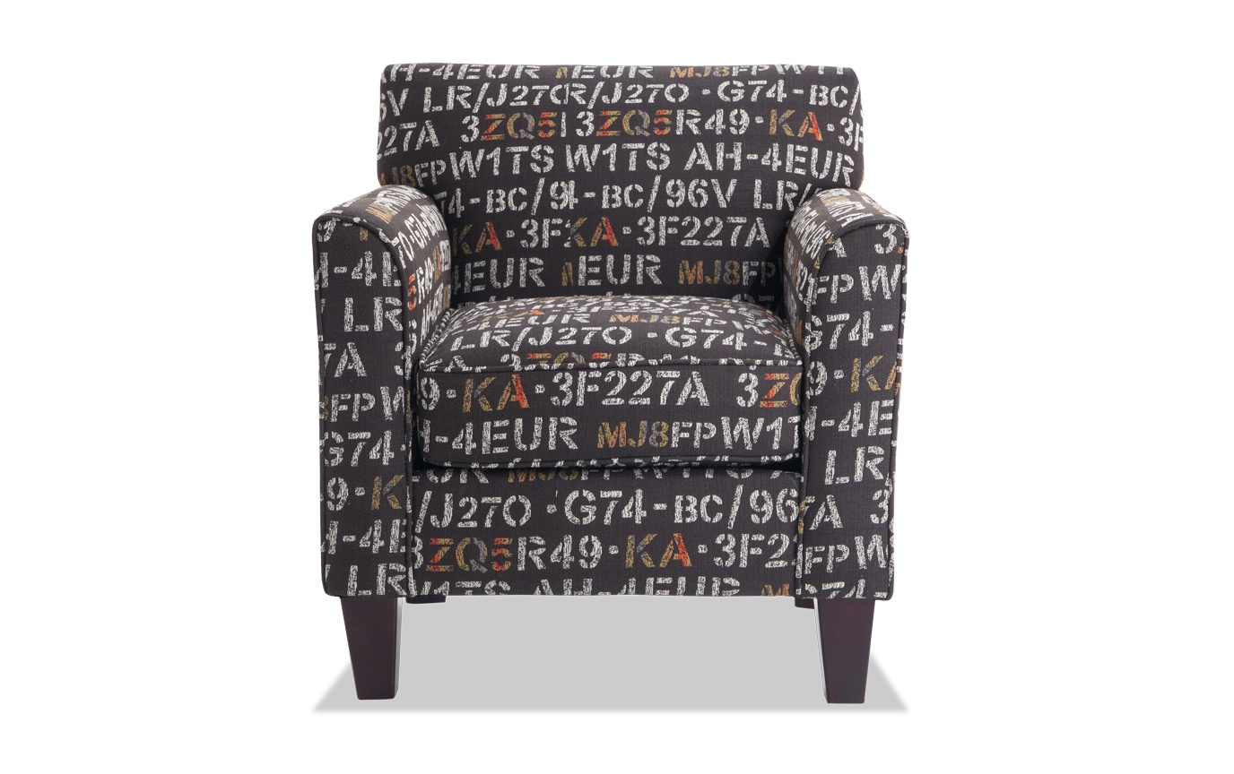Clinton Midnight Accent Chair